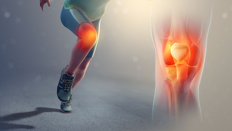 To prevent runner's knee, run on softer surfaces